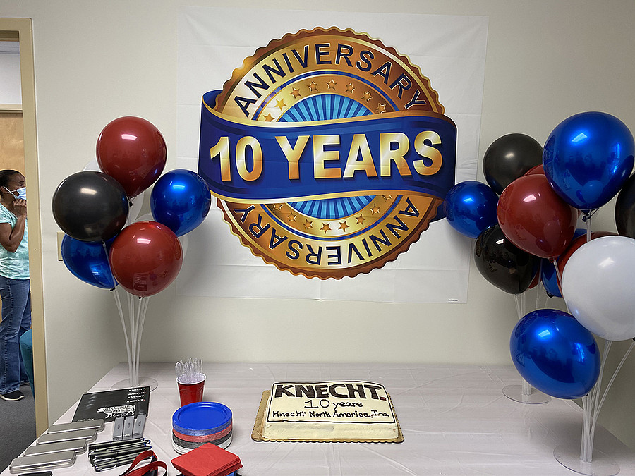 KNECHT North America Inc. | 10 Jahre in der KNECHT-Group